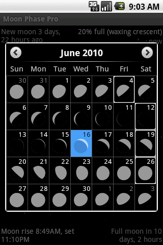 Moon Phase Pro App Review