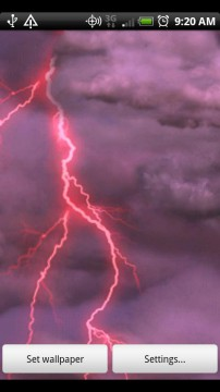 Thunderstorm Live Wallpaper For Android
