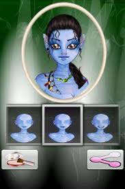 Avatar Makeup Transforms Your Droid Into Animation Studio