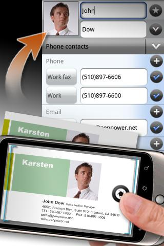 WorldCard Mobile Android App Screenshot