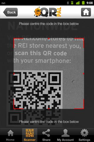 Make Payments with Codes, QR Pal and Your Droid