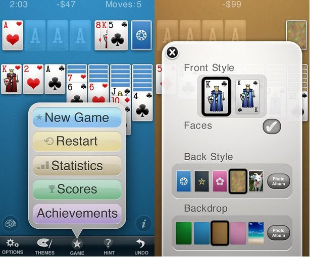 Solitaire by Brainium Adds Colors to the Classic Game