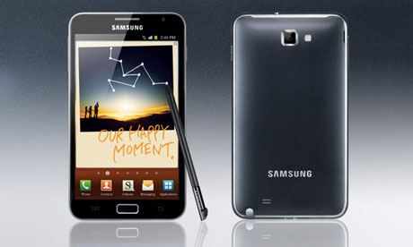 Samsung Galaxy Note to Get Android 4.0 Update in Q2 2012