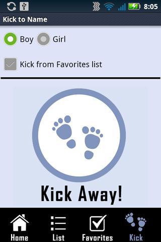 kick to name app