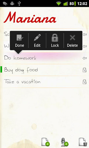maniana to do list app