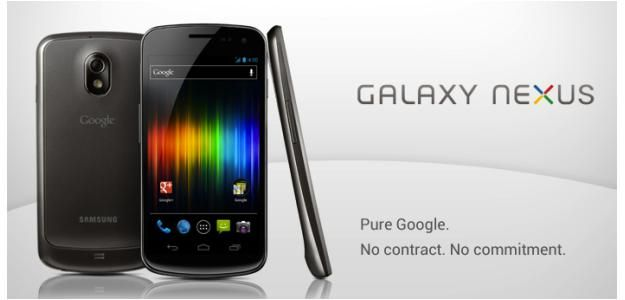 Google Sells Galaxy Nexus on Google Play