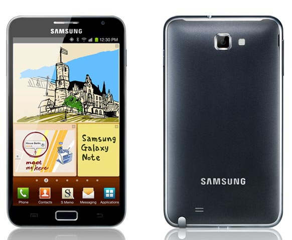 Samsung Rolls Out Android 4.0 Update for Galaxy Note