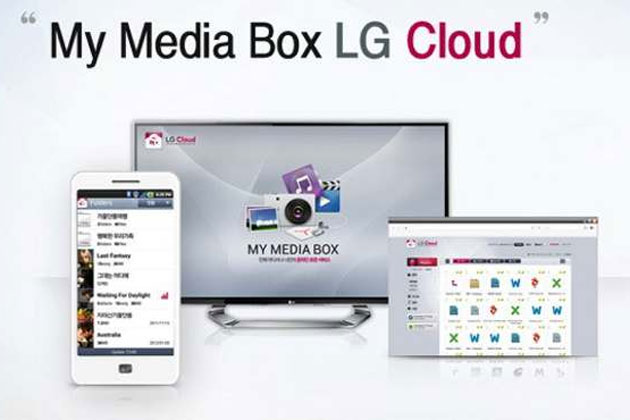 LG cloud for Android devices