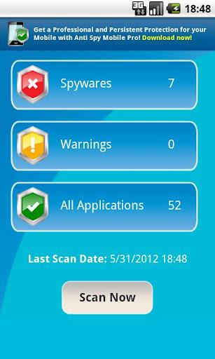 anti spy mobile free review