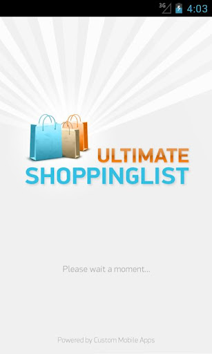 Ultimate-Shopping-List