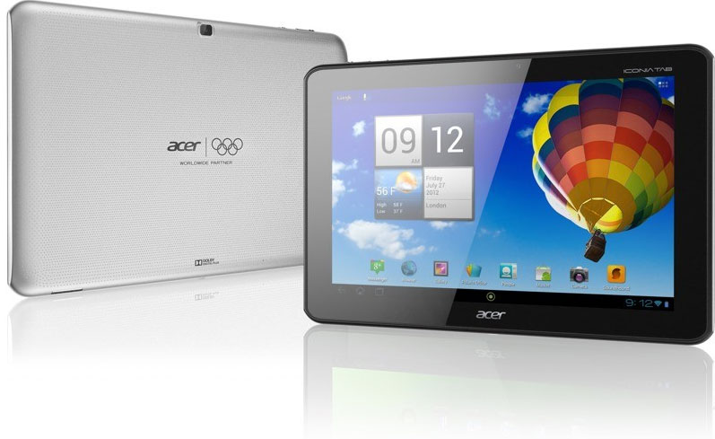 Acer Iconia Tab A110 Arrives On October 30th