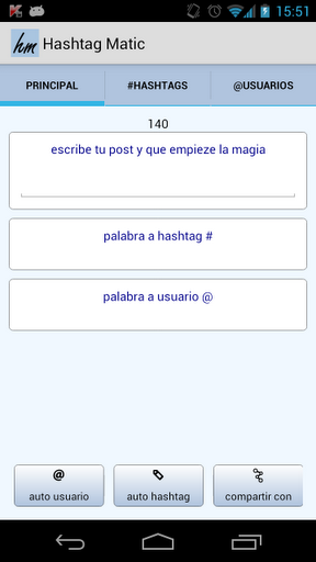 Hashtagmatic- Add '#' and '@' Tags Automatically to Your Posts