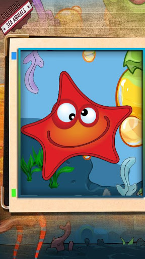 Color & Learn: Sea Animals