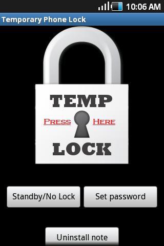 Temporary Lock