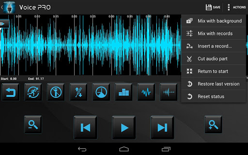 Voice PRO – Edit Your Audio Files and Add Effects to Them