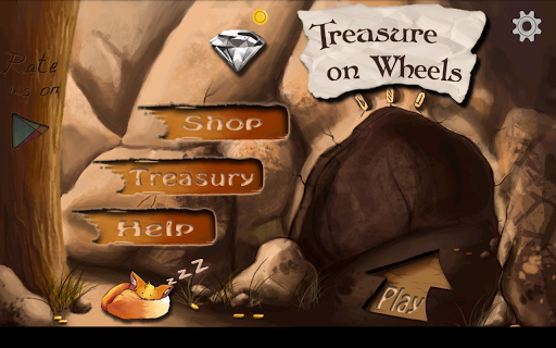 Treasure on Wheels – Collect Precious Stones from Caves to Save People