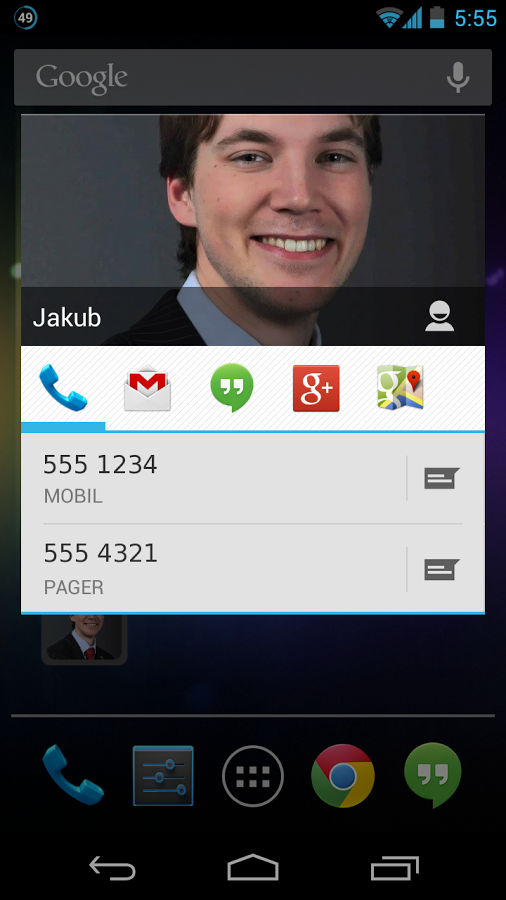 Design Your Own Widget-Stylish Quick Call Android App