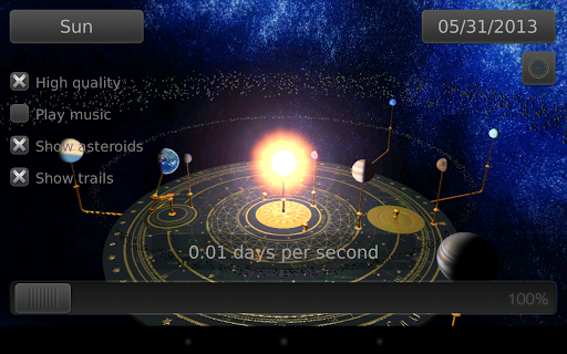 Take a Trip to Space with a 3D Orrery App