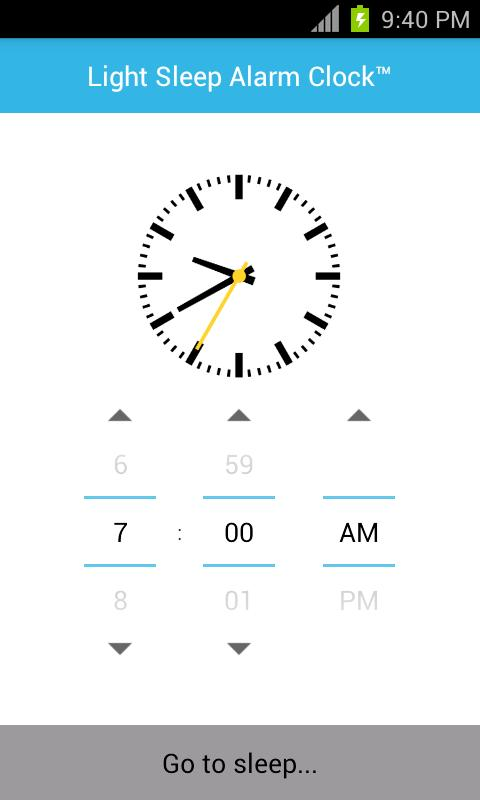 Sleeping App for Android