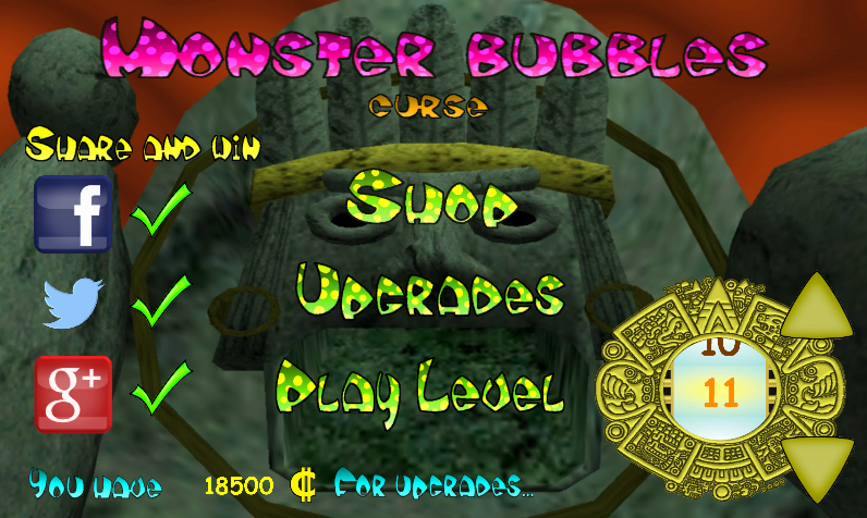 Monster Bubbles Curse (Pang)