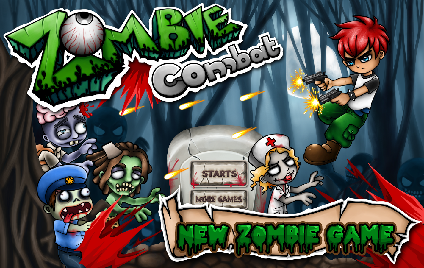 Android Zombies Game