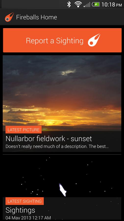 Fireballs-Android-App