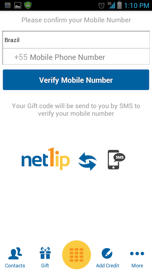 NET1IP for Android