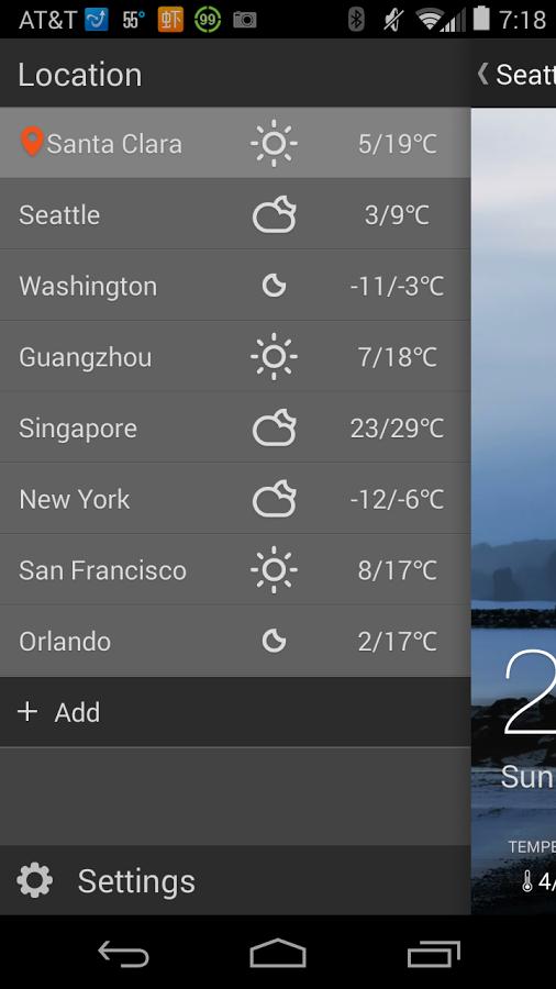 Android MoWeather App