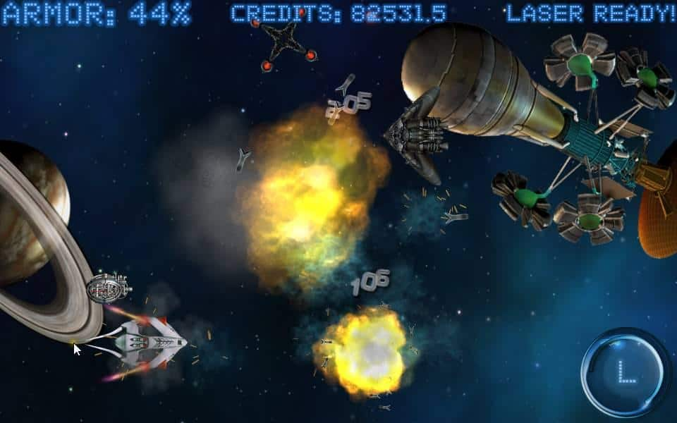 Space Shooter Ultimate: Great App with Retro Style Gaming Feature