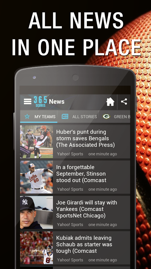 Sports Scores App for Android