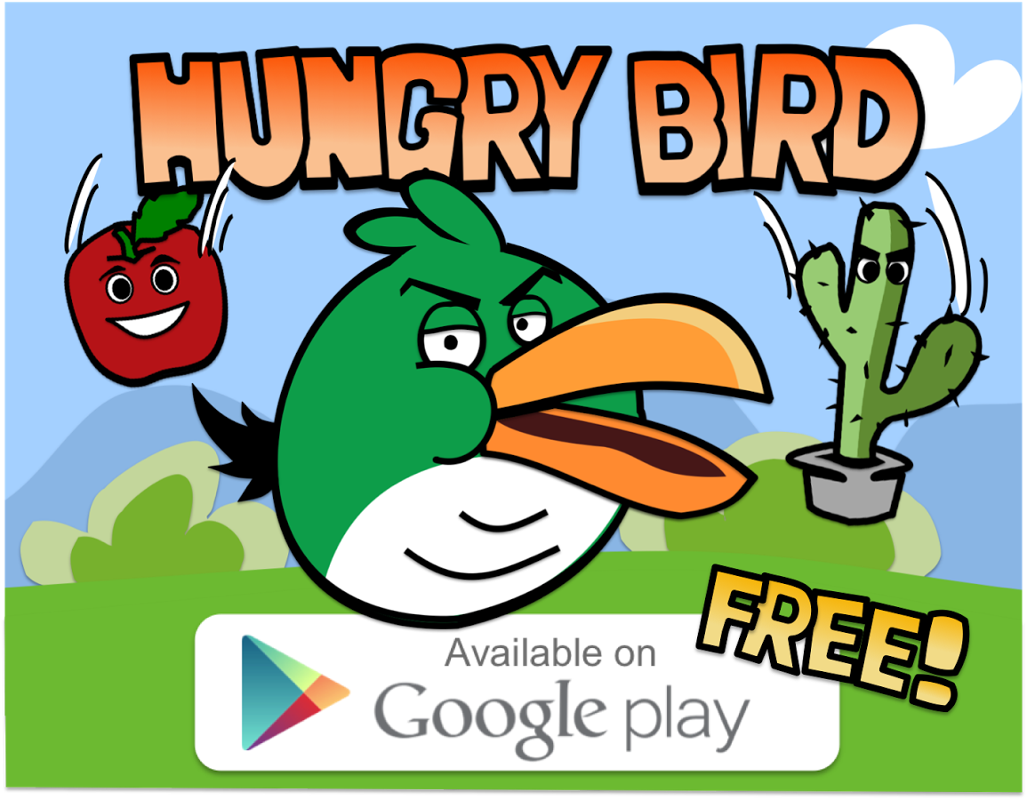 Free Hungry Angry Bird Games