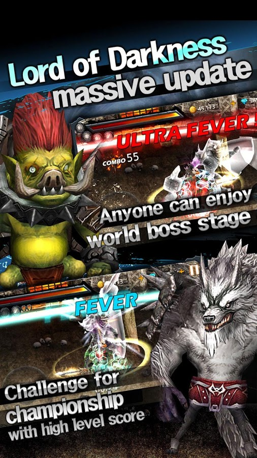 Darkness Monsters Arcade Game
