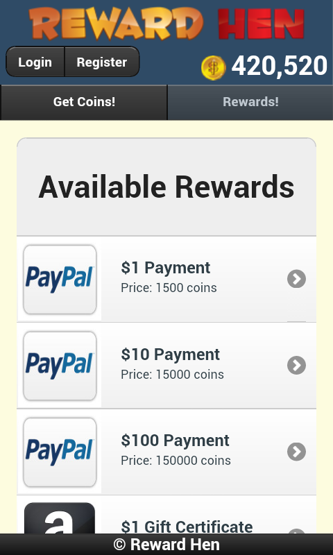 Earn Cash Reward Android App