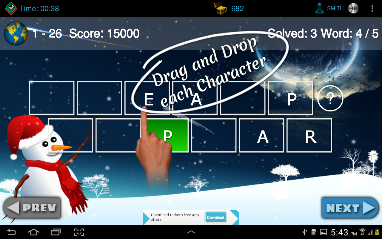 Android Vocabul Jumble App