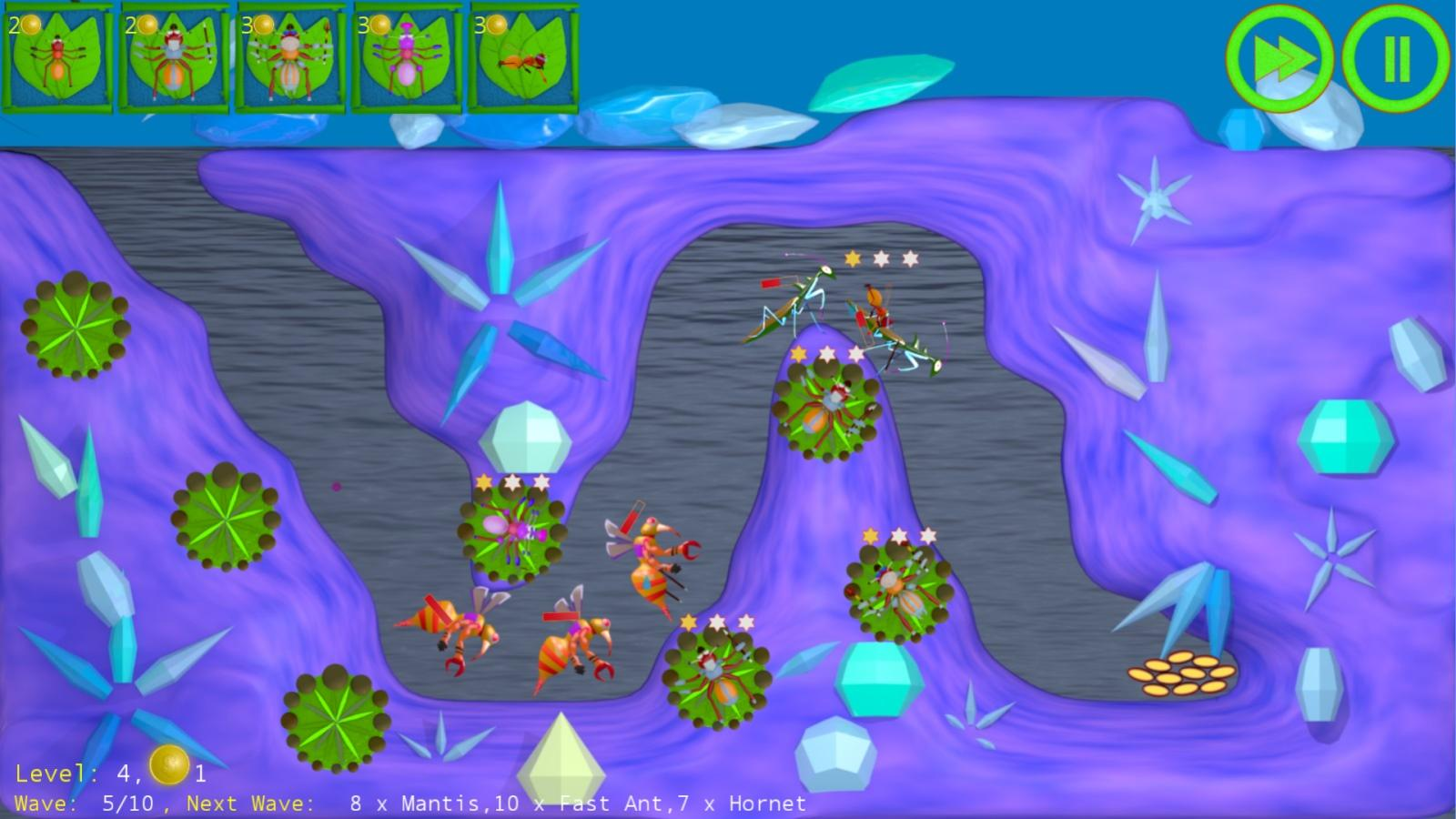 Anthill Defenders: Android App Game