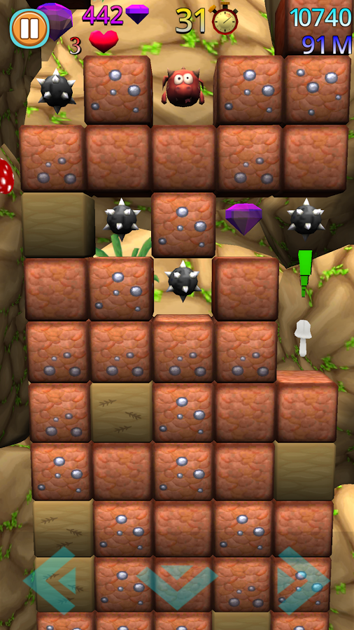 Digging Deep Game App for Android