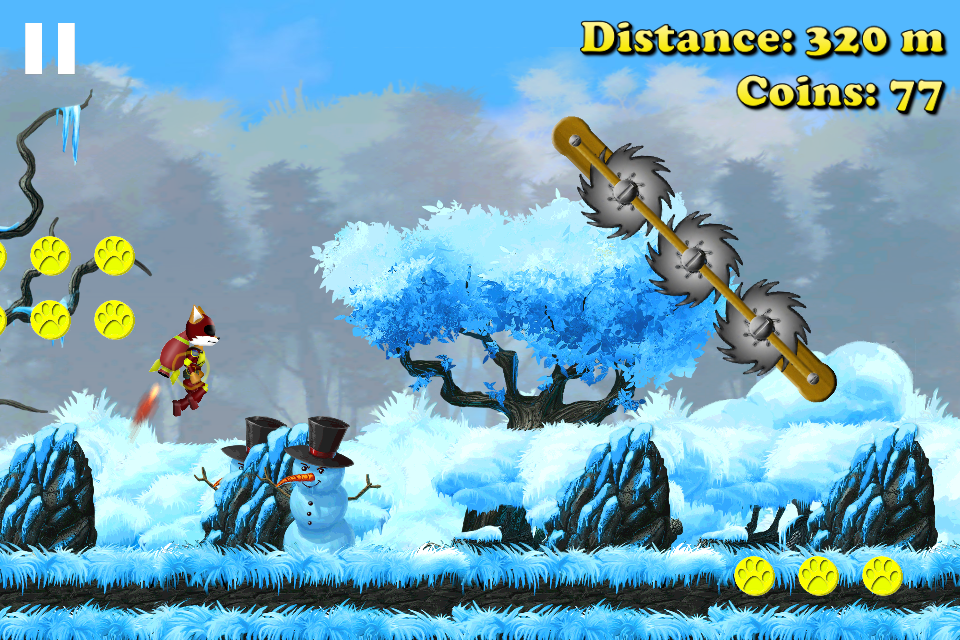 Fox Tale: Rocket Run - Interesting android game app