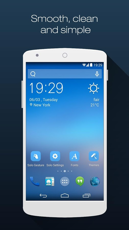 Android Home Screen Launcher App