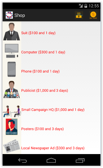 Android Political Simulation Games