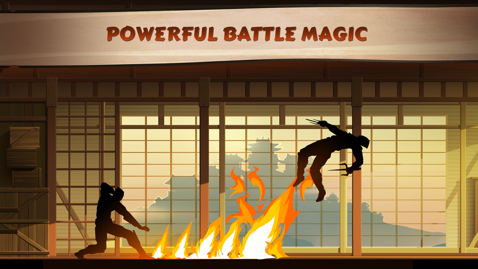Classical Fight and RPG Game
