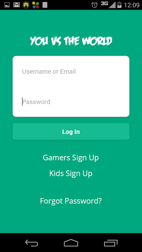 Social Network Gaming App for Kids