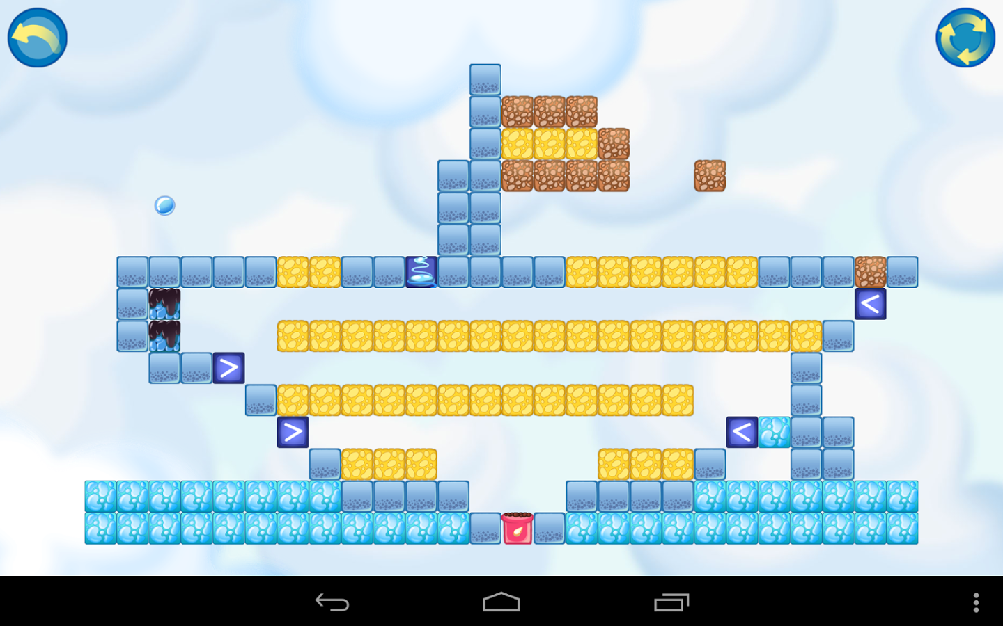 Android WaterBall Game App