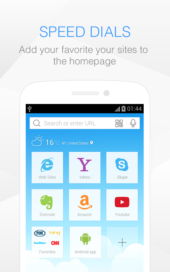 Baidu Browser for Android