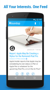 Newsfeed Reader App Android