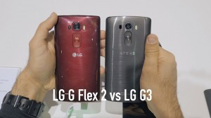 Compare LG G Flex 2 & LG G3