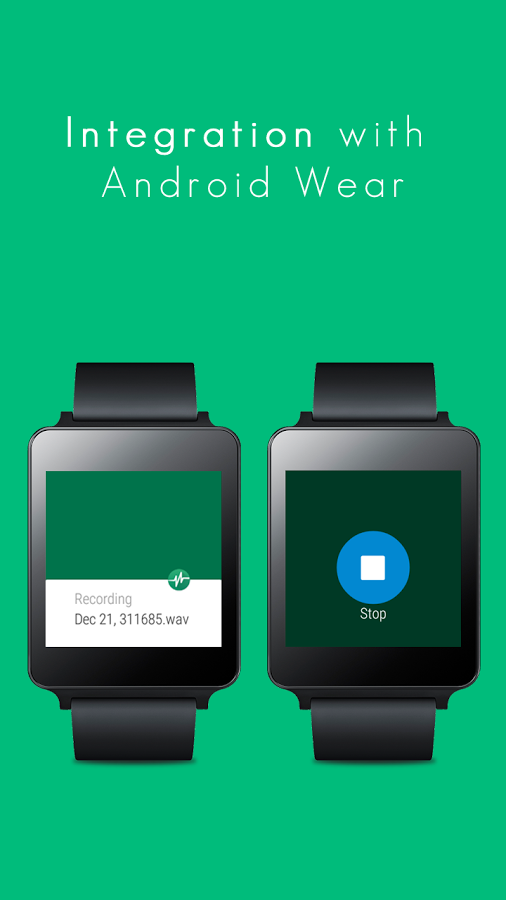 parrot voice recorder a smart voice recorder with support of android wear ask your android
