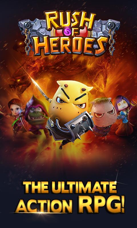 Rush of Heroes for Android