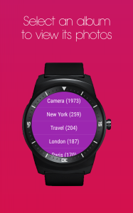 Photo Gallery app for Android Wear Watch