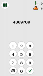 Random Number Memory App