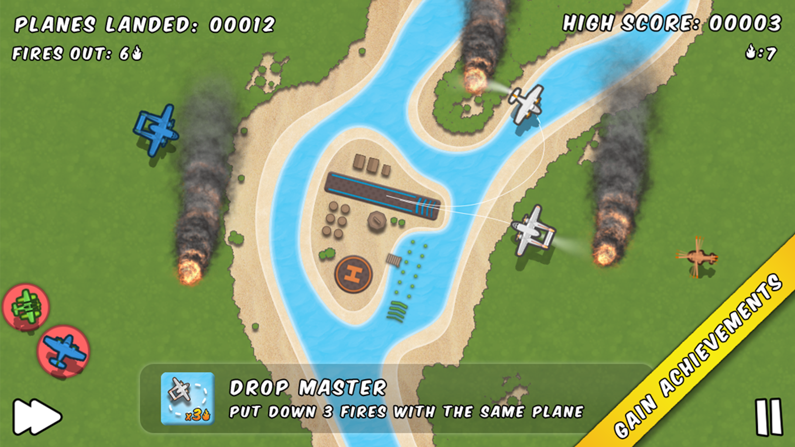 Planes Control - Play and Control the Traffic to Land Your Plane